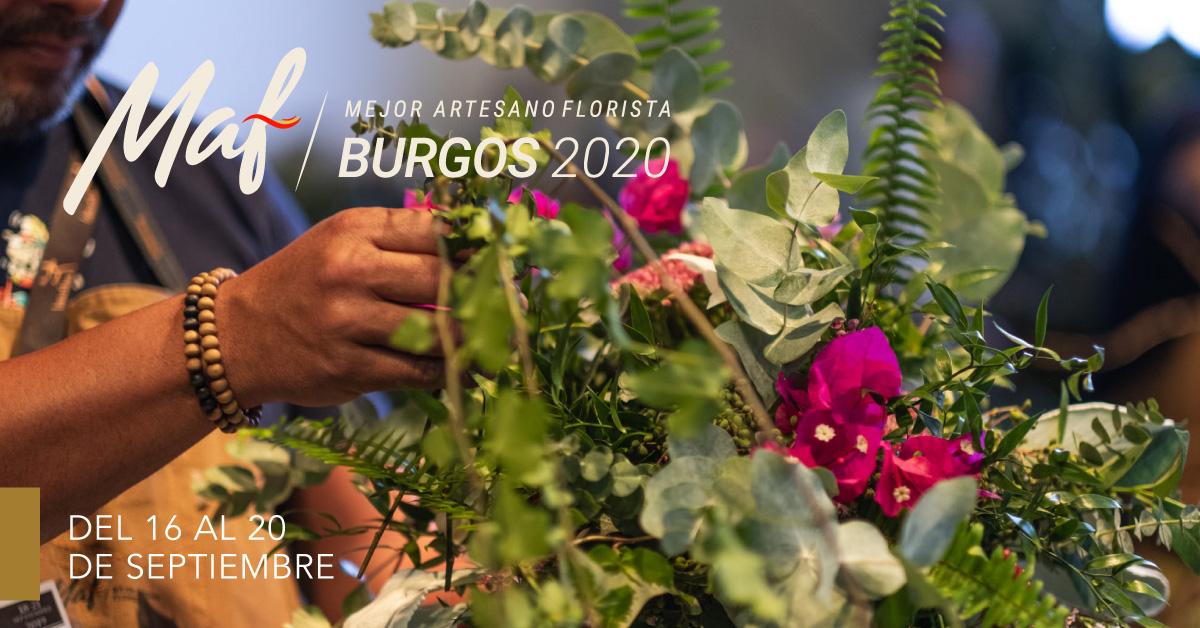 Burgos acoge en septiembre la próxima edición MAF, mejor artesano florista