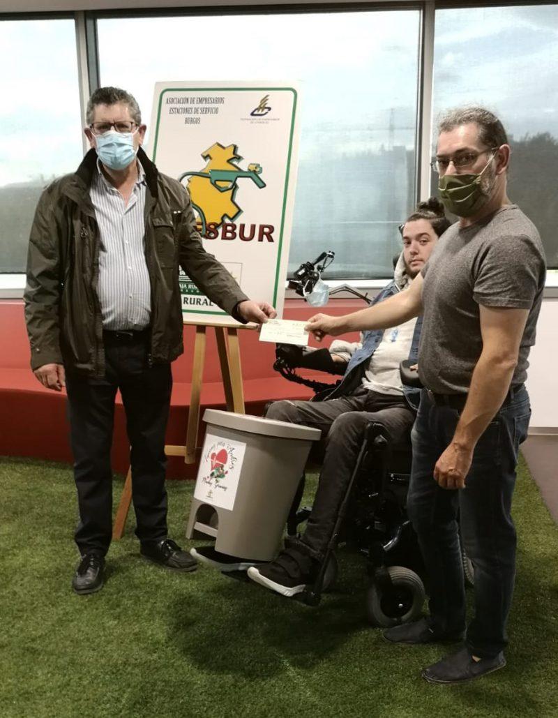 ADESBUR colabora en la campaña de recogida de tapones «Tapones para Andrés»
