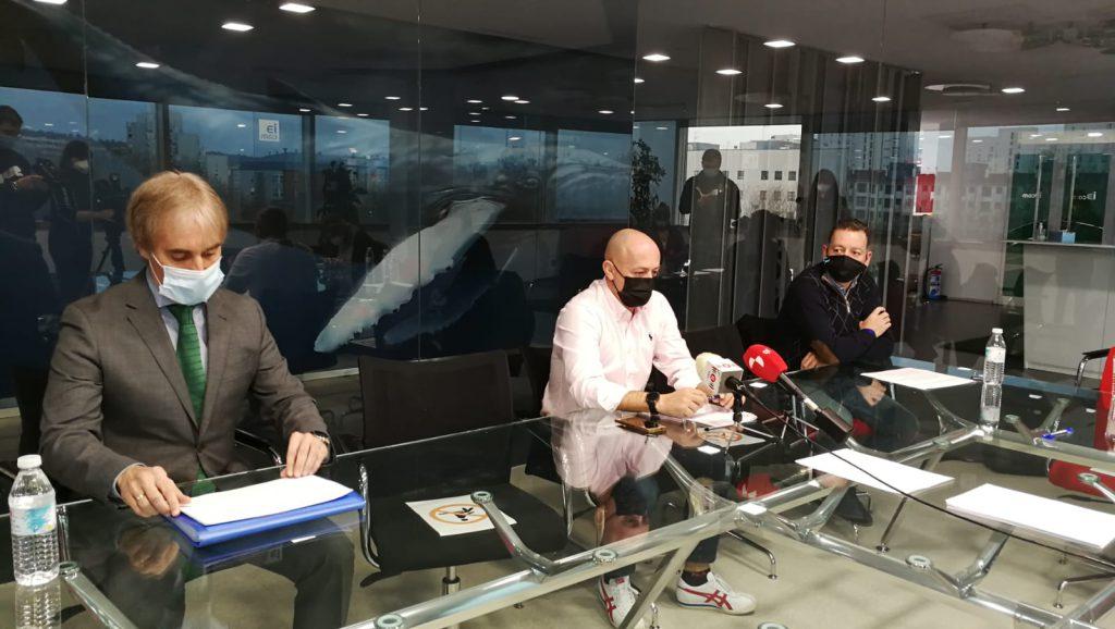 Rueda de prensa de la Asociación de Gimnasios y Centros Deportivos de Burgos