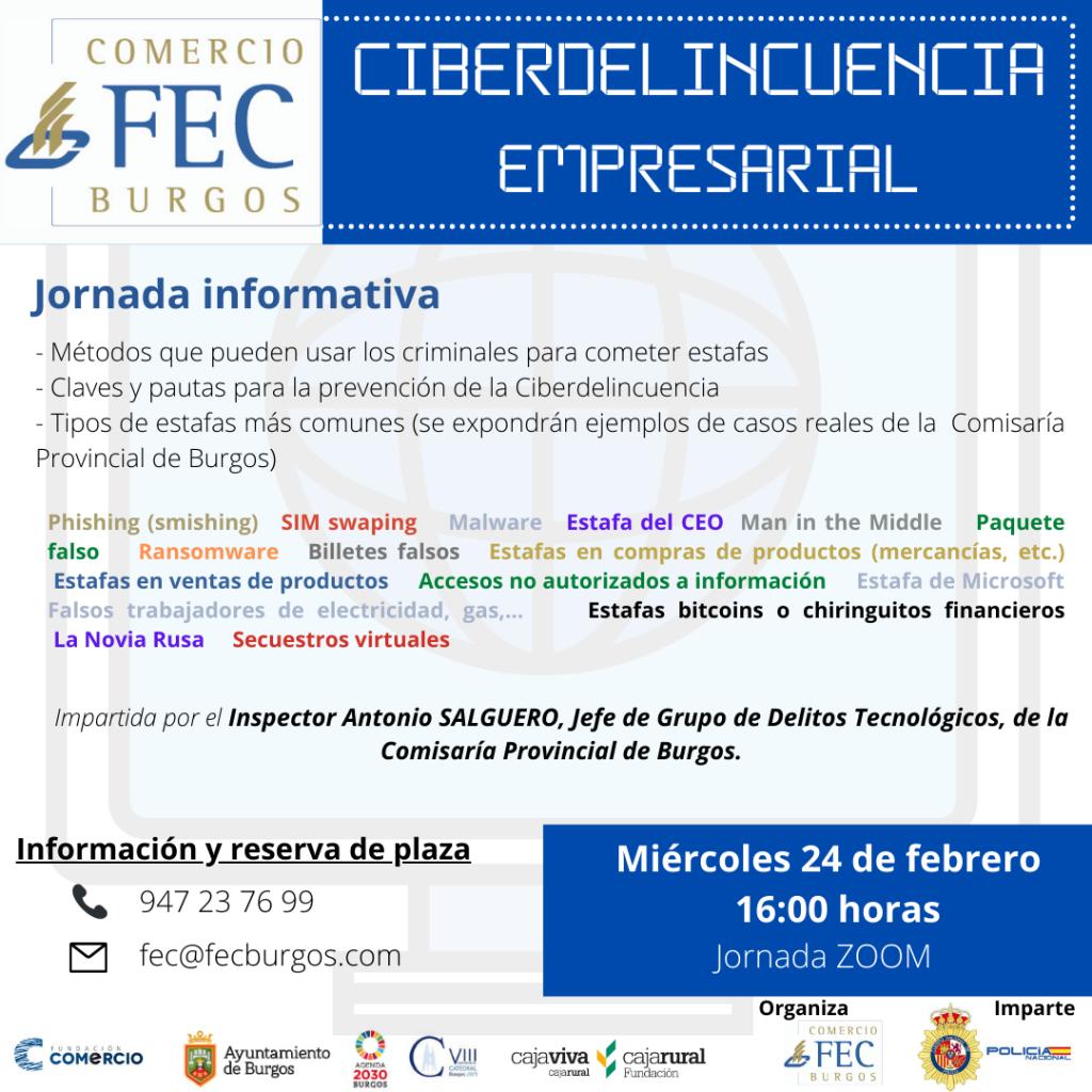 Jornada informativa sobre la Ciberdelincuencia Empresarial