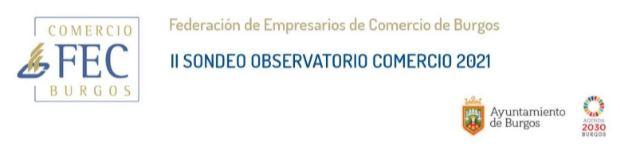 II sondeo. Observatorio del comercio de Burgos 2021