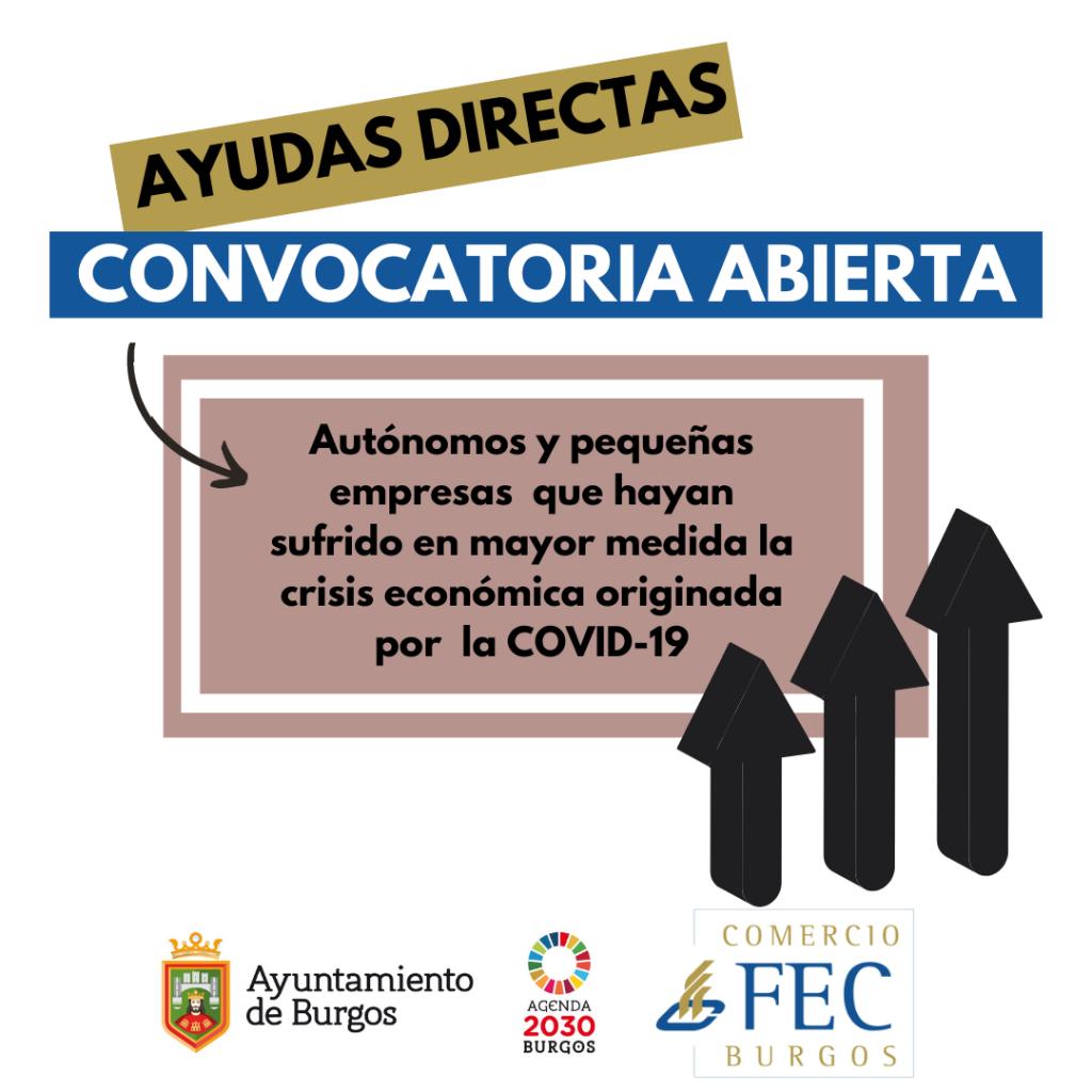 Ayudas Directas Covid-19 Ayuntamiento de Burgos