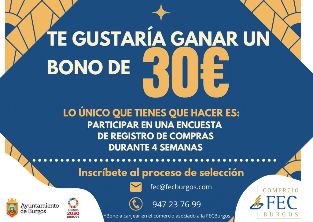 Encuesta Bono 30€. NECESITAMOS CONSUMIDORES